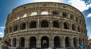 Panorama di Colosseum Fotografie Stock
