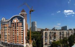 Panorama di costruzione fotografia stock libera da diritti