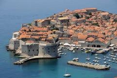 Panorama di Dubrovnik immagini stock