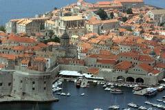 Panorama di Dubrovnik Immagine Stock