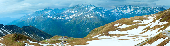 Panorama di estate delle alpi (Austria) Immagine Stock Libera da Diritti