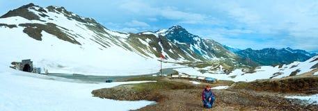 Panorama di estate delle alpi (Austria). Fotografia Stock Libera da Diritti