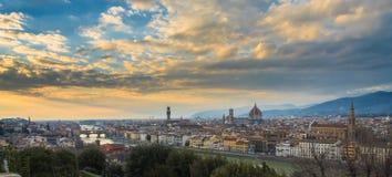 Panorama di Firence Immagini Stock
