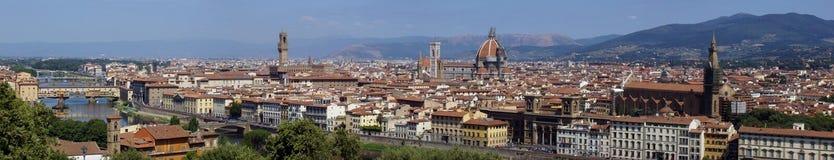 Panorama di Firenze immagini stock libere da diritti