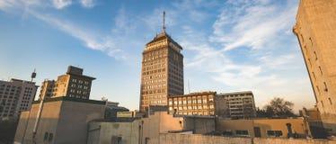 Panorama di Fresno Fotografia Stock