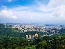 Panorama di Genova, Italia immagini stock