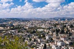 Panorama di Gerusalemme Immagini Stock Libere da Diritti