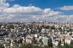 Panorama di Gerusalemme Fotografia Stock