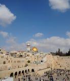 Panorama di Gerusalemme Fotografie Stock Libere da Diritti