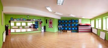 Panorama di ginnastica Immagine Stock