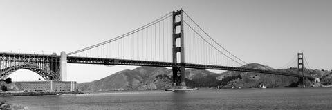 Panorama di golden gate bridge immagine stock libera da diritti
