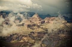 Panorama di grande canyon Fotografie Stock