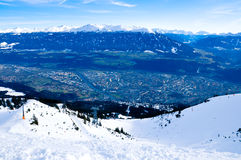 Panorama di Innsbruck Fotografie Stock