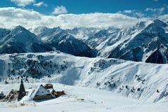 Panorama di inverno di Moutain Fotografia Stock Libera da Diritti