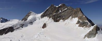 Panorama di Jungfrau Fotografia Stock