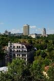 Panorama di Kiev Fotografia Stock