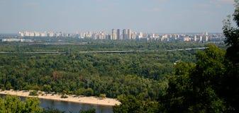 Panorama di Kiev Fotografia Stock Libera da Diritti