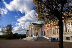 Panorama di Kuskovo Fotografie Stock Libere da Diritti