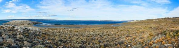 Panorama di Lago Strobel Fotografia Stock Libera da Diritti