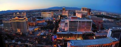 Panorama di Las Vegas fotografia stock libera da diritti