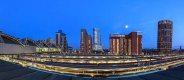 Panorama di Leeds Immagini Stock