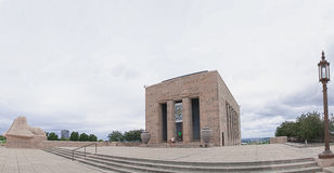 Panorama di Liberty Memorial Fotografia Stock
