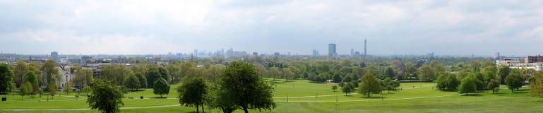 Panorama di Londra Immagini Stock