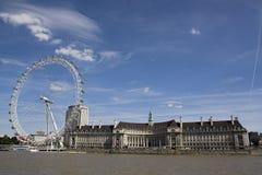 Panorama di Londra Fotografia Stock Libera da Diritti