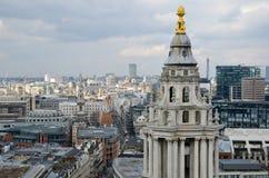 Panorama di Londra Fotografia Stock