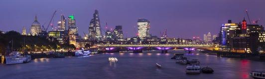 Panorama di Londra Fotografie Stock