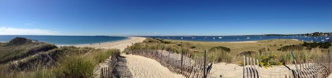Panorama di Long Island Sound fotografia stock