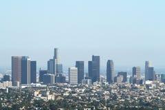 Panorama di Los Angeles immagine stock libera da diritti