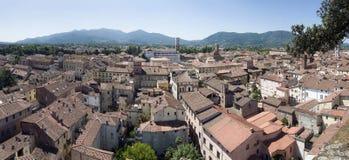 Panorama di Lucca Fotografie Stock Libere da Diritti