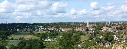 Panorama di Maastricht, Paesi Bassi Immagine Stock Libera da Diritti