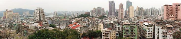 Panorama di Macao fotografia stock