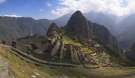 Panorama di Machu Picchu Immagine Stock