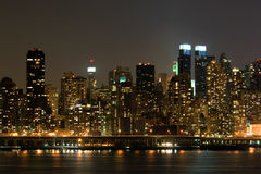 Panorama di Manhattan Fotografia Stock