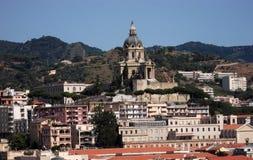 panorama di Messina Immagini Stock Libere da Diritti