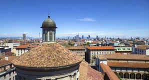 Panorama di Milano 2 Immagini Stock Libere da Diritti