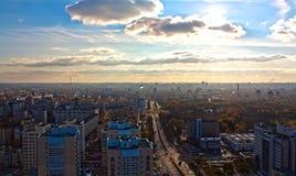 Panorama di Minsk, Belarus Fotografia Stock