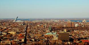 Panorama di Montreal Immagine Stock