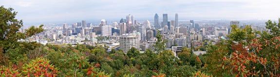 Panorama di Montreal immagini stock libere da diritti