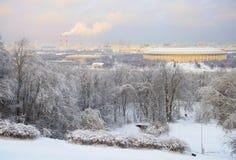Panorama di Mosca immagini stock libere da diritti
