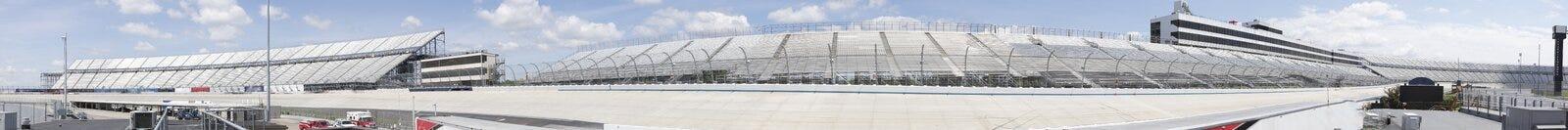 Panorama di Motor Speedway fotografie stock libere da diritti