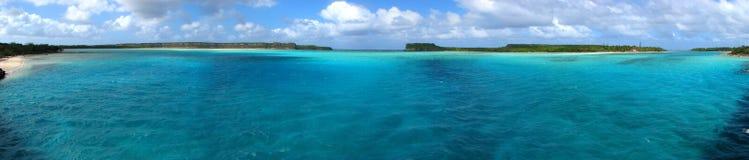 Panorama di Mouli, Nuova Caledonia Fotografia Stock
