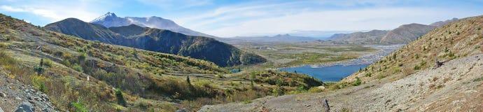Panorama di Mt St Helens Immagine Stock