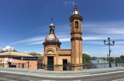 Panorama di Museo Del Castillo De San Jorge Immagine Stock Libera da Diritti