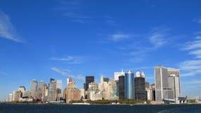 Panorama di New York Fotografia Stock