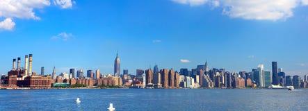 Panorama di New York Fotografie Stock Libere da Diritti
