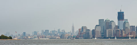 Panorama di New York Immagine Stock Libera da Diritti